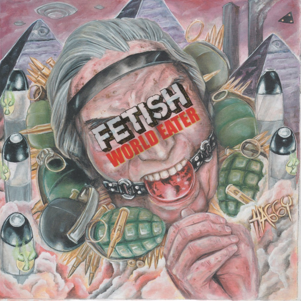 "Image of FETISH-""World Eater"" CD Japanese Import"