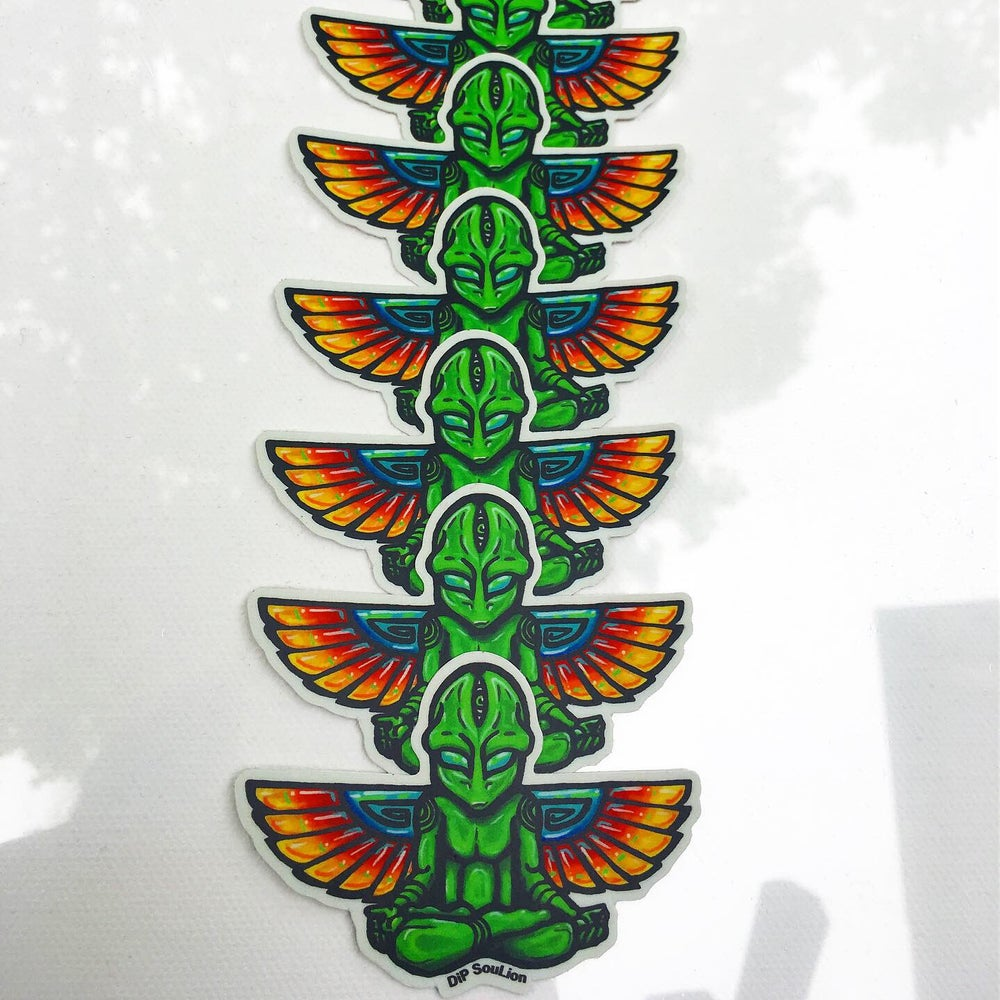 Image of The Messenger sticker