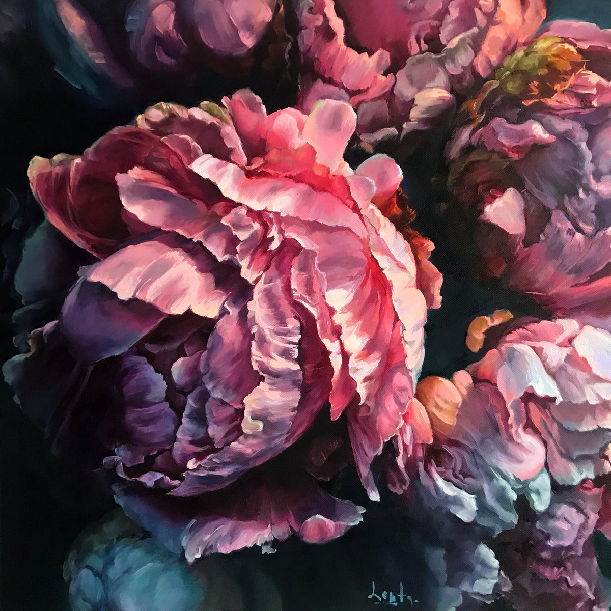 Image of Dramatic Peonies