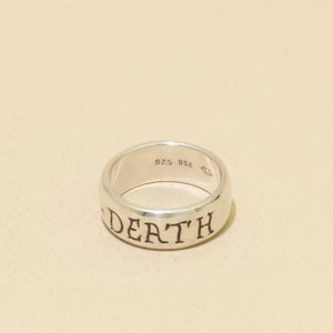 Image of STANDARD TILL-DEATH Engraved Band