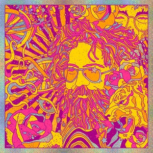Image of Jerry Garcia Bicycle Day 2019 - Sparkle Foil