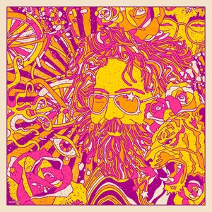 Image of Jerry Garcia Bicycle Day 2019 - Main Print