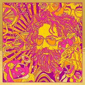 Image of Jerry Garcia Bicycle Day 2019 - Gold Mirror