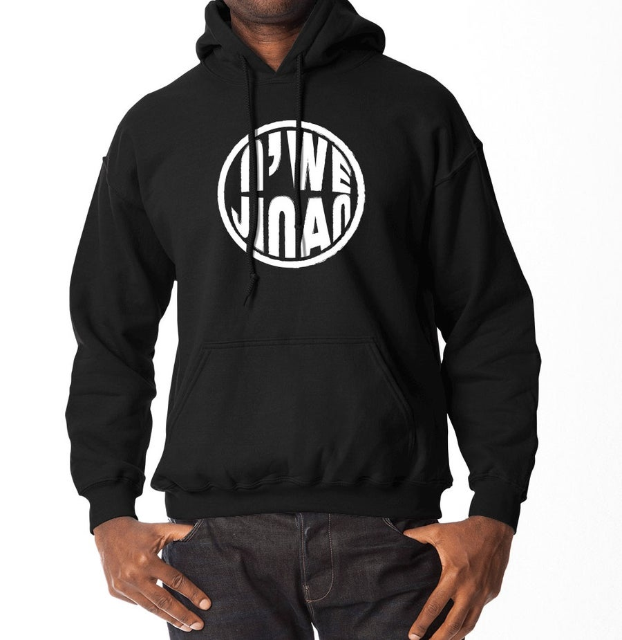 Image of Black Hooded Sweater