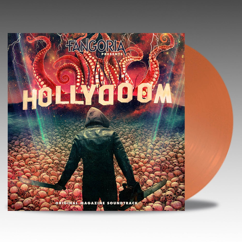 Image of Fangoria Presents Hollydoom 'Translucent Orange' Vinyl - Various Artists