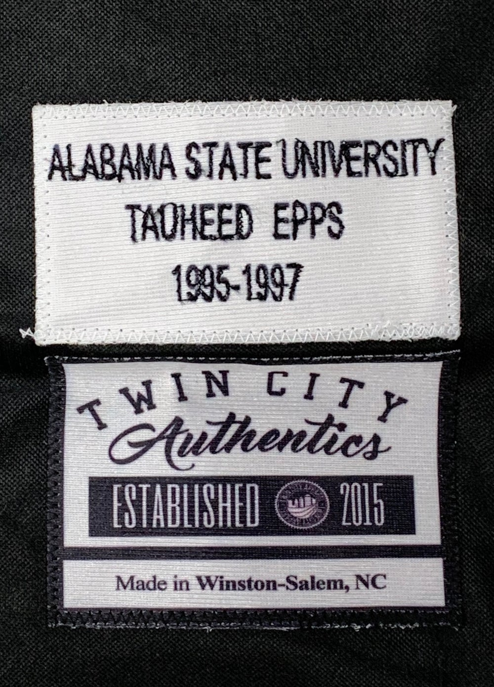 Image of Tauheed Epps (2Chainz) Alabama State custom