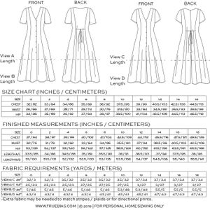 Image of SHELBY DRESS / ROMPER (PDF)