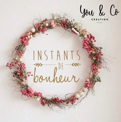 "Image of Sticker ""Instants de bonheur"""