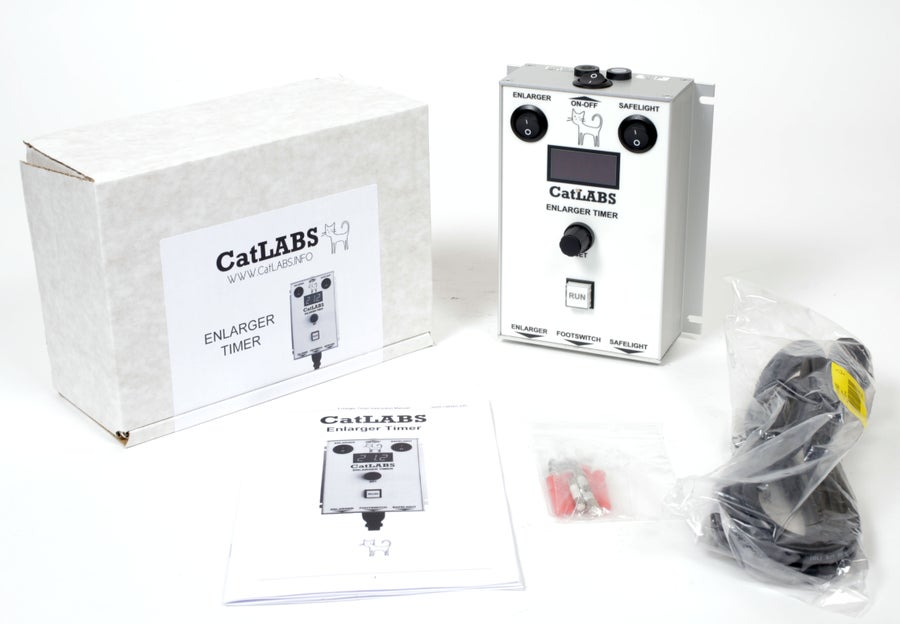 Image of CatLABS Universal Digital Darkroom Enlarger Timer - IN STOCK