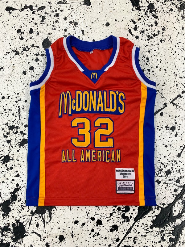 Image of LeBron James McDonalds All American Custom