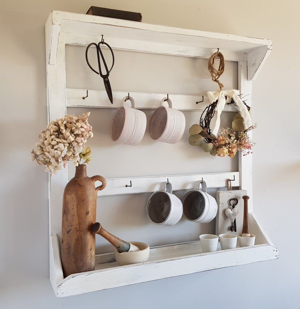 Image of Wall Rack - White
