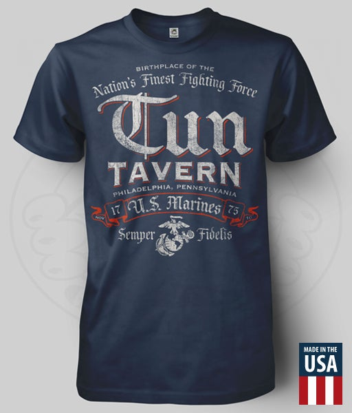 Image of TUN TAVERN - NATION'S FINEST T-SHIRT