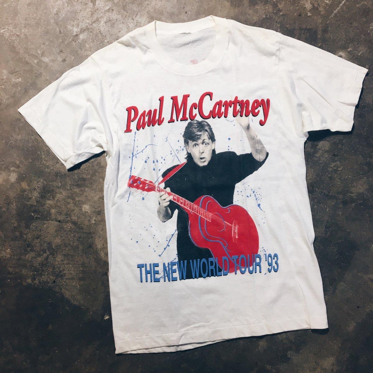Image of Original 1993 Paul McCartney World Tour Tee.