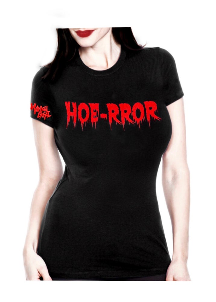 Image of Hoe-rror Women's Tee