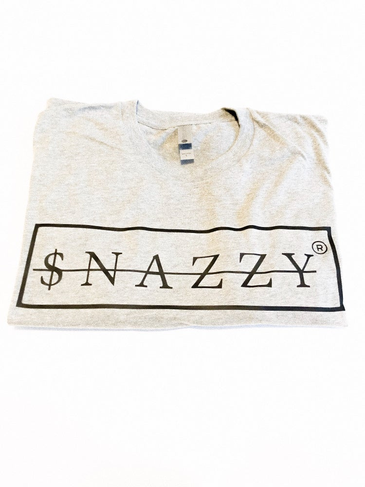 Image of SNAZZY TEE ICE GRAY