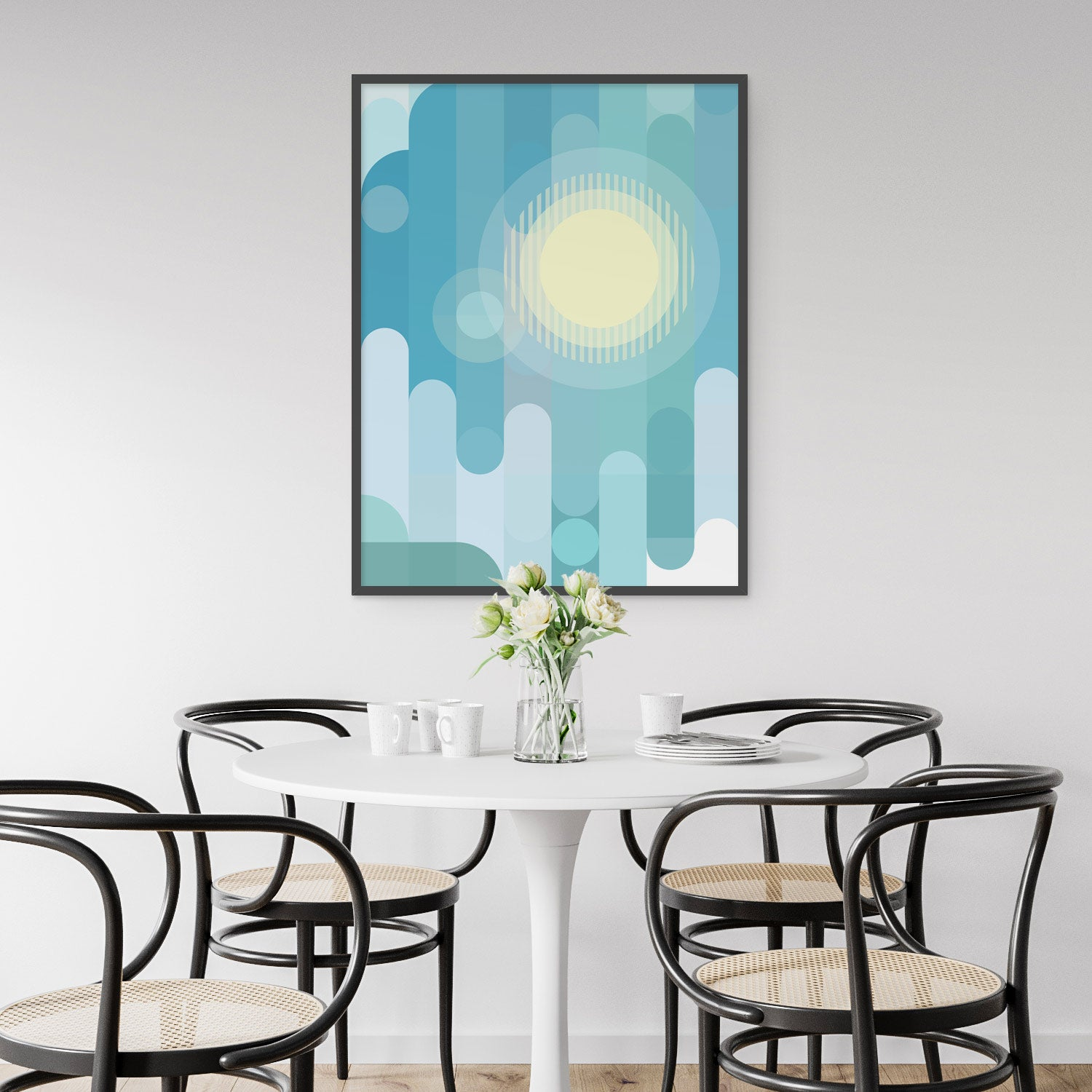 Image of Partly Cloudy Art Print