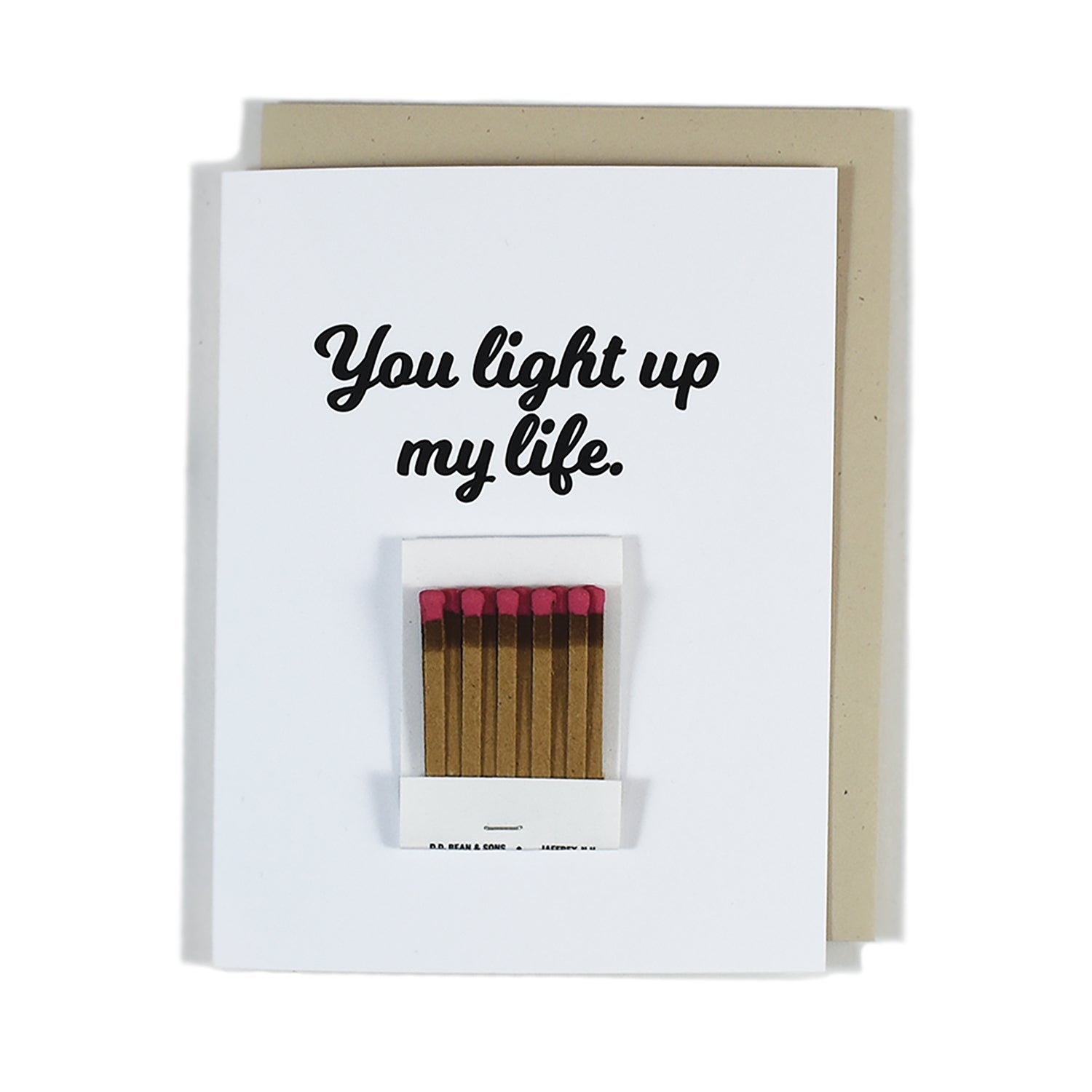 Image of You Light Up My Life Card