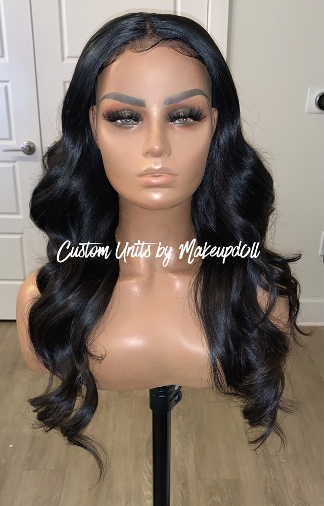 "Image of Brazilian Body Wave 22"" Lace Closure Wig"