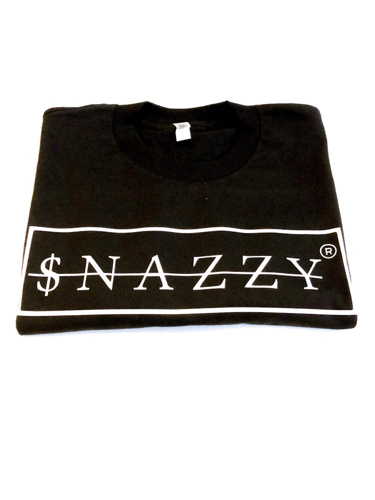 Image of SNAZZY TEE BLACK