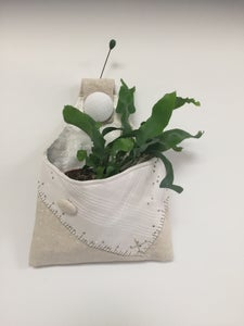 Image of Jennifer Collier: Hanging Fabric Planters