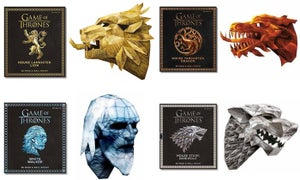Image of Game of Thrones 3D Wall mounts and masks