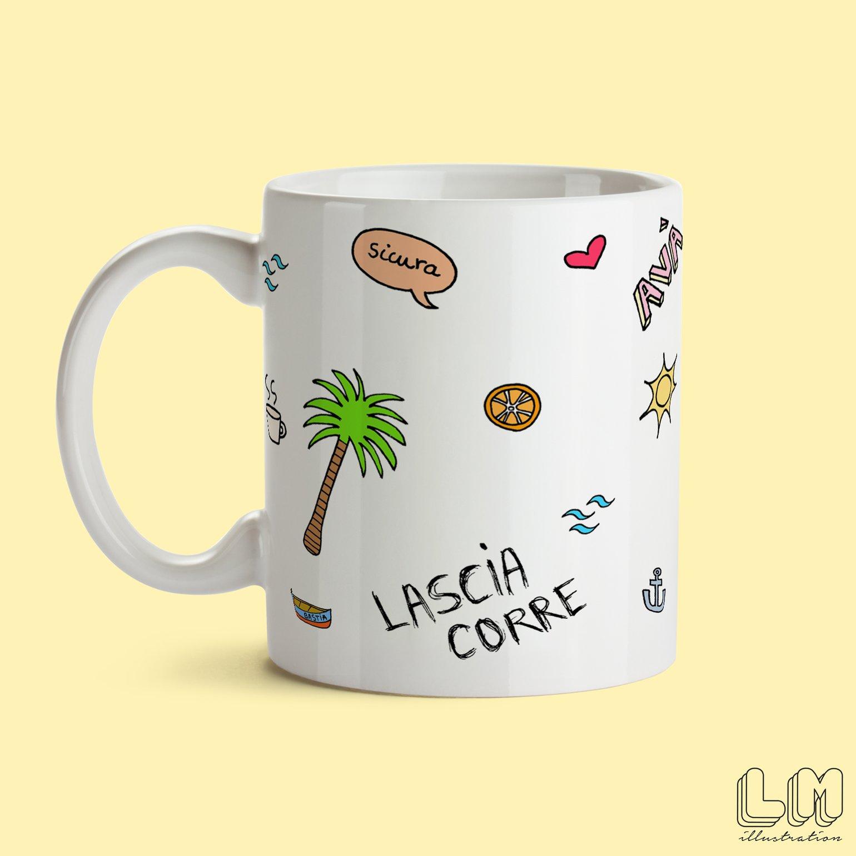 Image of Petit Mug Lascia Corre