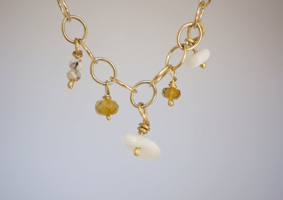 Image of Tulum gold necklace
