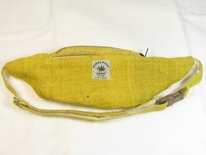 Image of Organic Hemp Bumbag - Citrine | 100% Vegan | Eco Friendly | Handmade | Money Belt | Himalayan Hemp