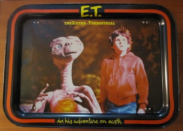 Image of VINTAGE E.T Lap Tray