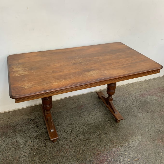 Image of TIMBER DINING TABLE