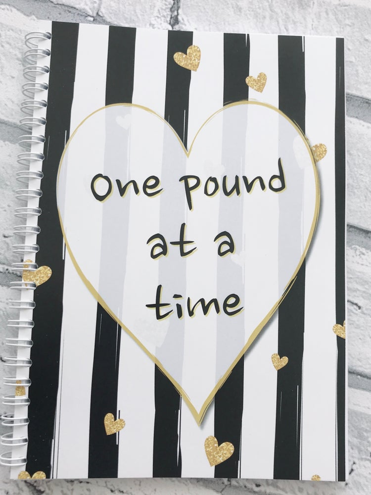 Image of 12 WEEK SPIRAL FOOD DIARY ONE POUND AT A TIME