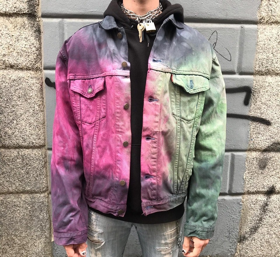 Image of PURPLE HAZE TIE DYE JACKET