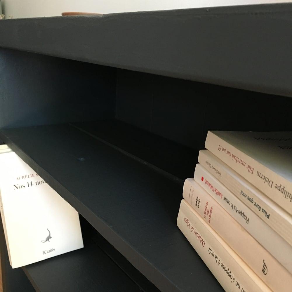 Image of Étagère / bibliothèque «Charbon»