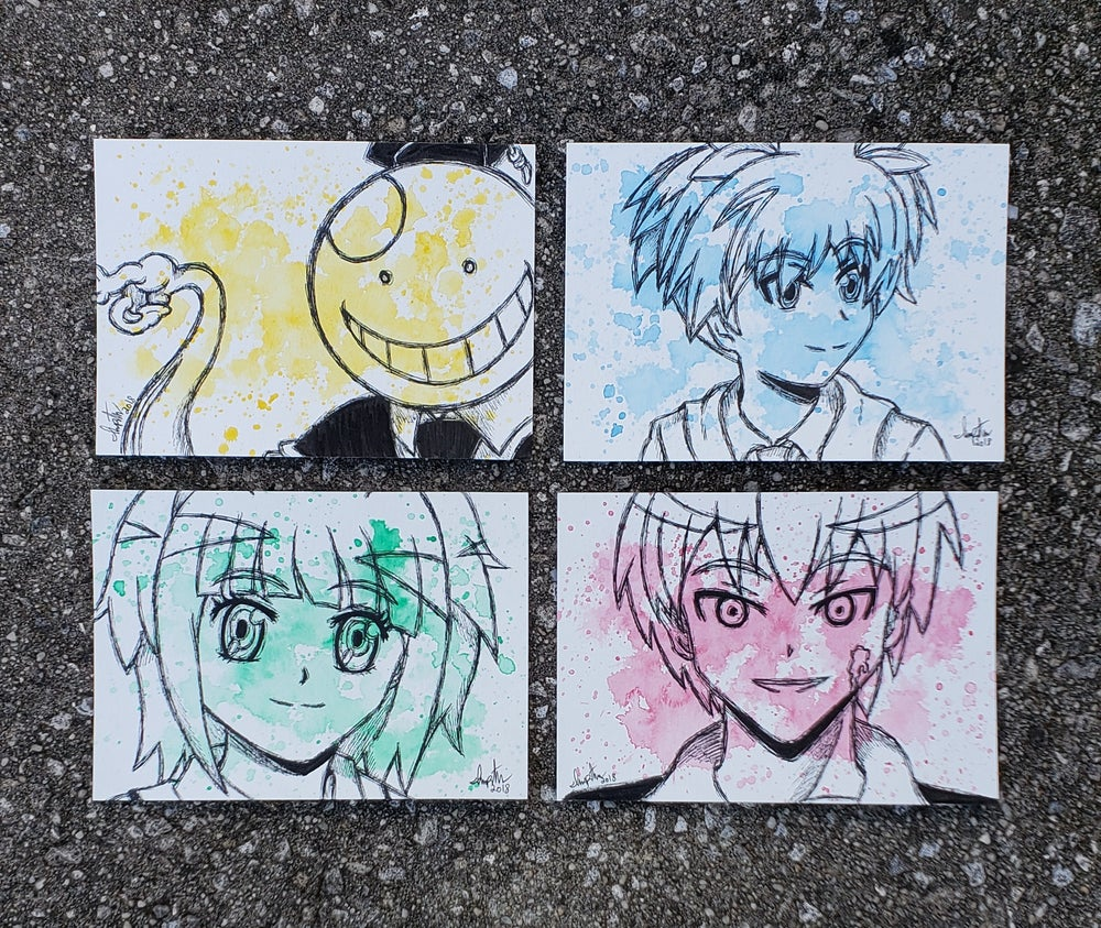 Image of Assassination Classroom Character set