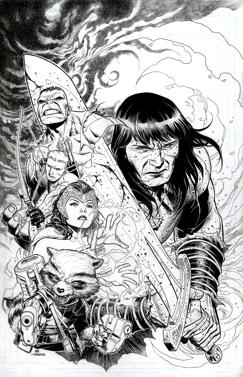 Image of AVENGERS-NO ROAD HOME #5 Cover