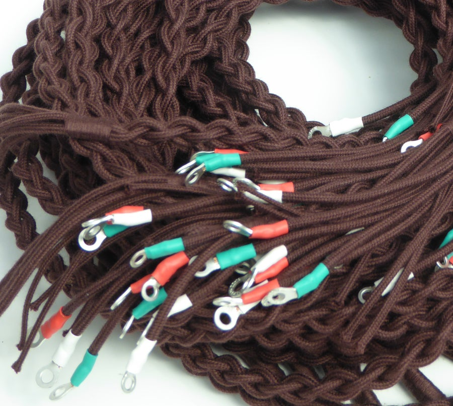 Image of Telephone Cords: Brown (£10.00 to £32.00)