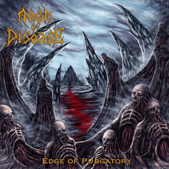 Image of NBR009 Aeon of Disease - Edge of Purgatory CD