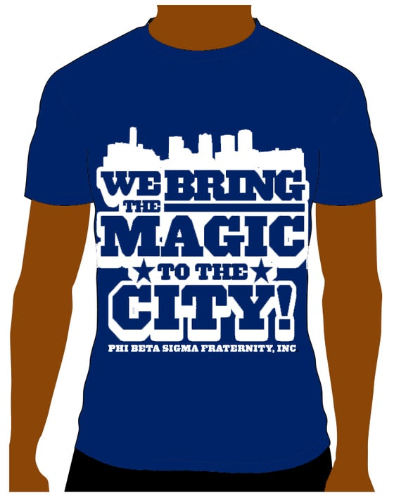 Image of Phi Beta Sigma - Magic City Shirt