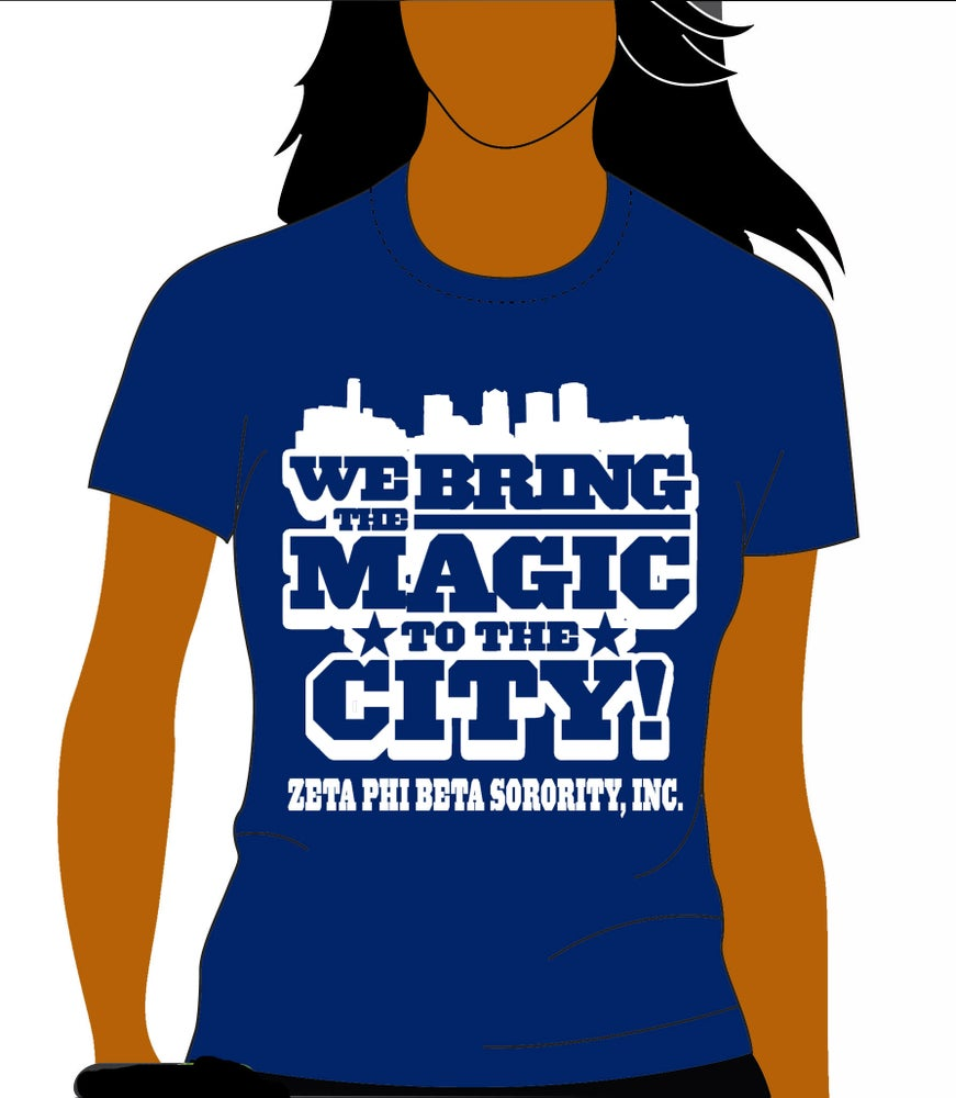 Image of Zeta Phi Beta - Magic City Shirt