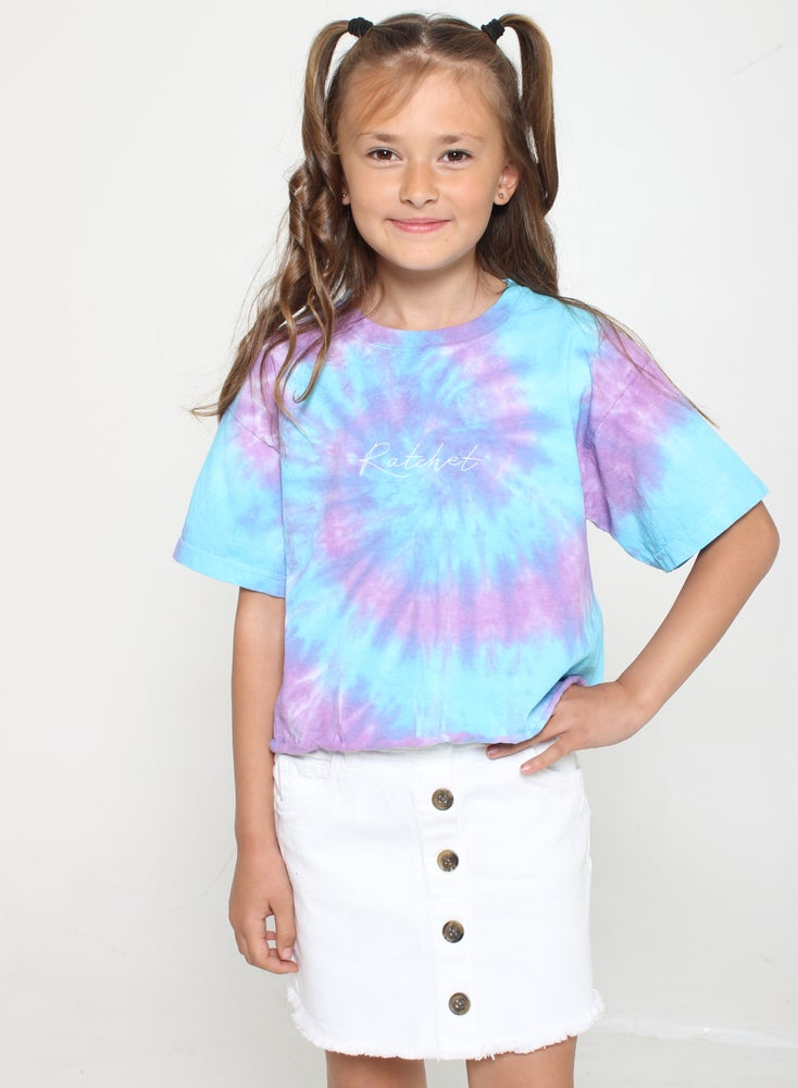 Image of Junior Spiral Crop Tee