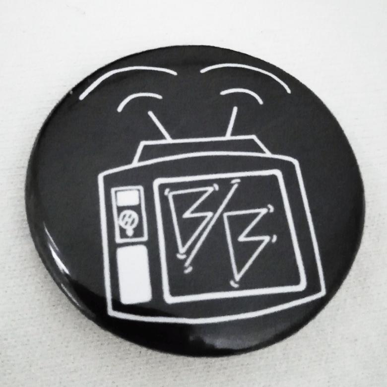 Image of TV Brain Badge