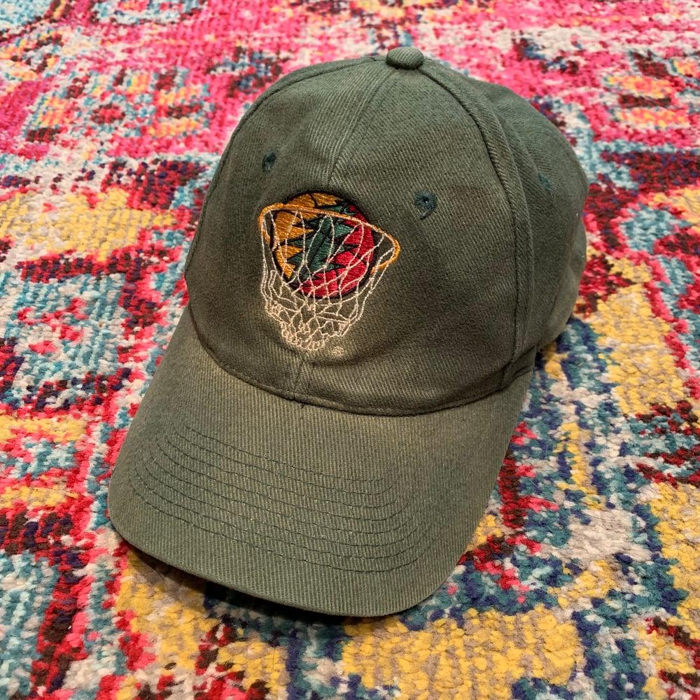 Image of Grateful Dead Original 1996 Lithuanian basketball Vintage Cap!