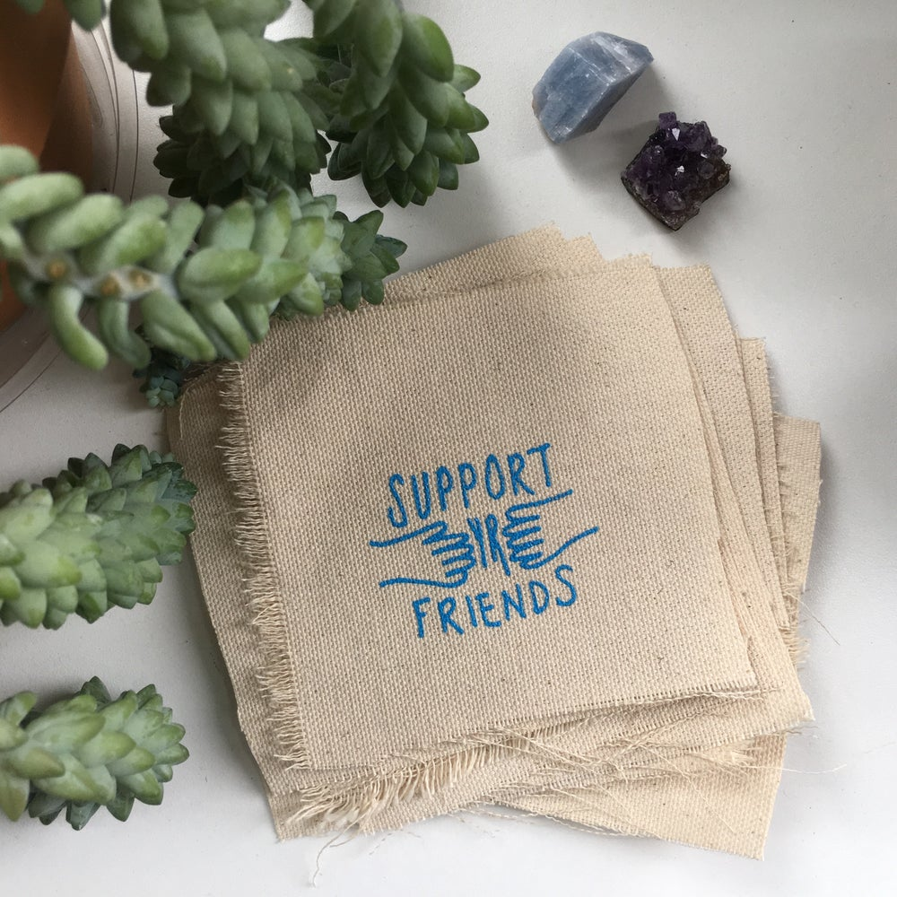 Image of support yr friends patch