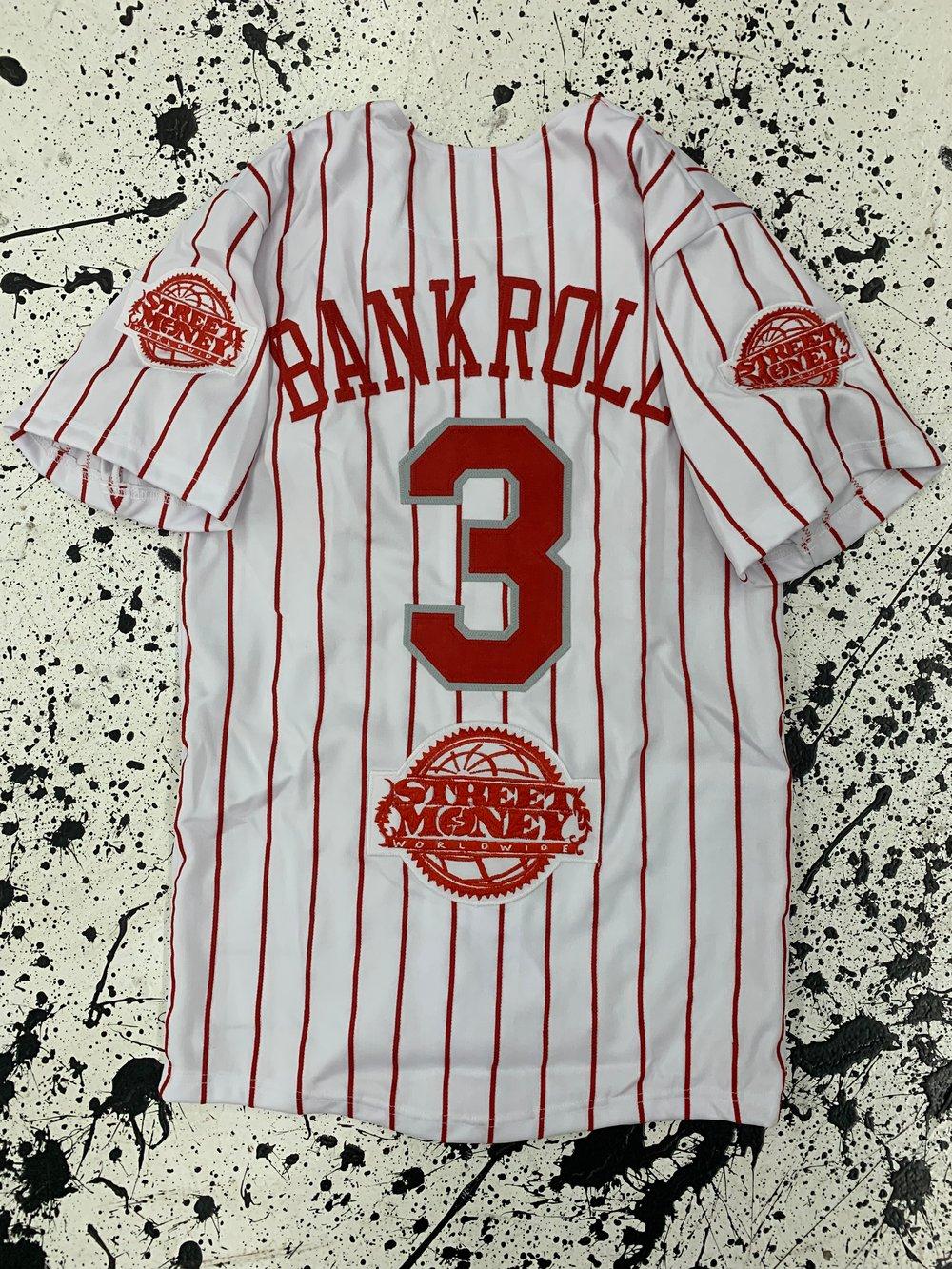 "Image of Custom Bankroll ""Braves"" & ""Life Of A Hot Boy"" Baseball jerseys"