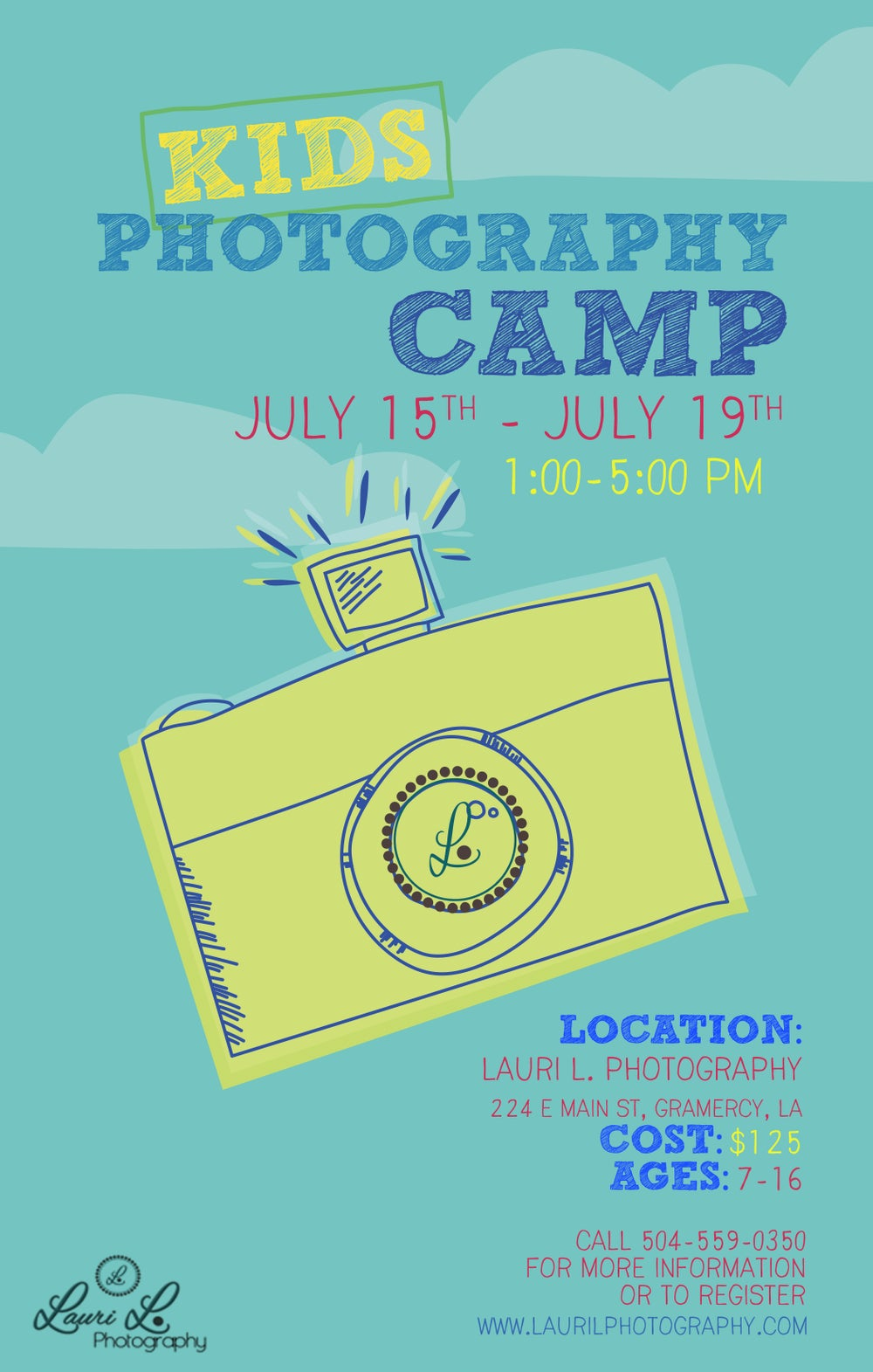 Image of KIDS PHOTOGRAPHY CAMP July 15-19