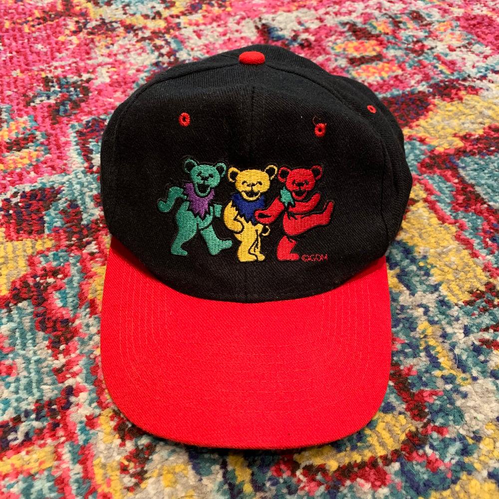 Image of Grateful Dead Original 1990's Vintage Bears Cap!