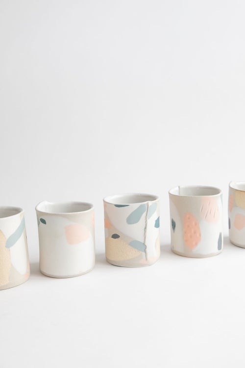 Image of Tropical Ocean Handleless Mugs