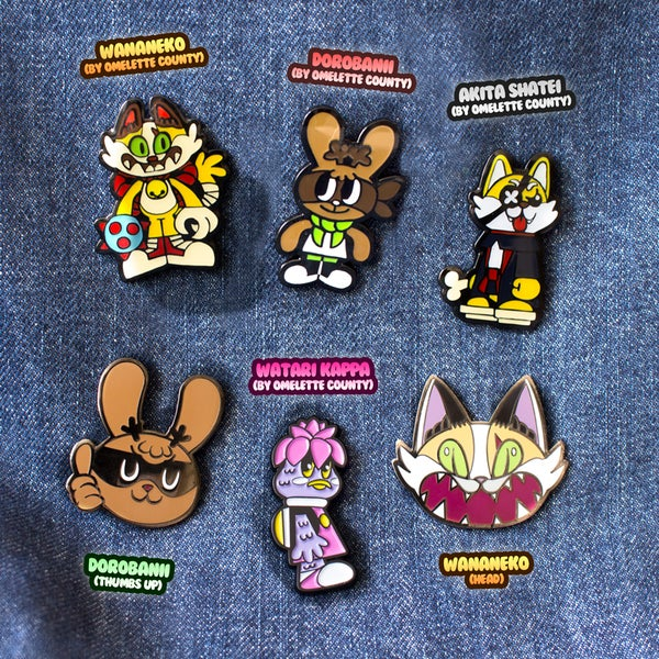Image of StickUp Monsters Enamel Pins