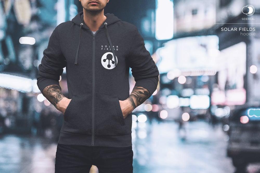 Image of Solar Fields 'Logo zip hoodie'