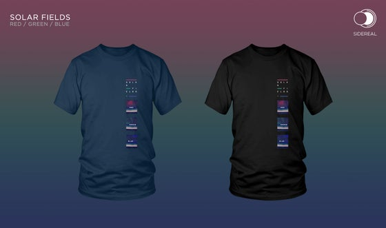 Image of Solar Fields 'RGB' T-shirt